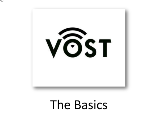 VOST: The Basics